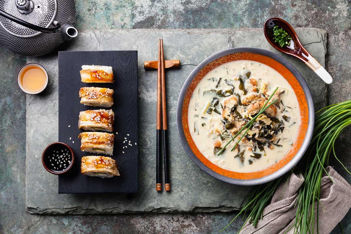Чешский суп-гуляш или гуляшный суп с говядиной и чесноком